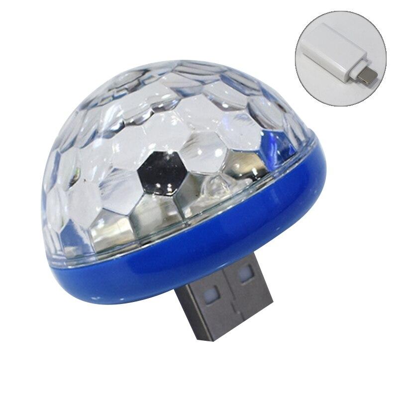 Mini lámpara LED de sonido de música para fiestas USB, luz DJ, barra de casa, M25
