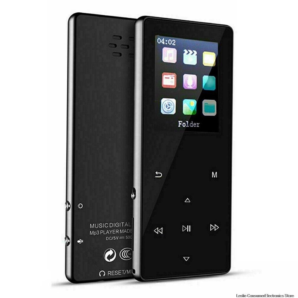 1,8 дюймов K1 сенсорный металлический внешний выпуск портативный MP3 музыкальный плеер с FM Hi-Fi без потерь Поддержка до 128 ГБ