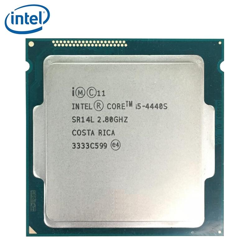 معالج انتل كور i5-4440S i5 4440S 6M كاش 2.8GHz LGA 1150 65 واط وحدة معالجة مركزية سطح المكتب مختبرة 100%