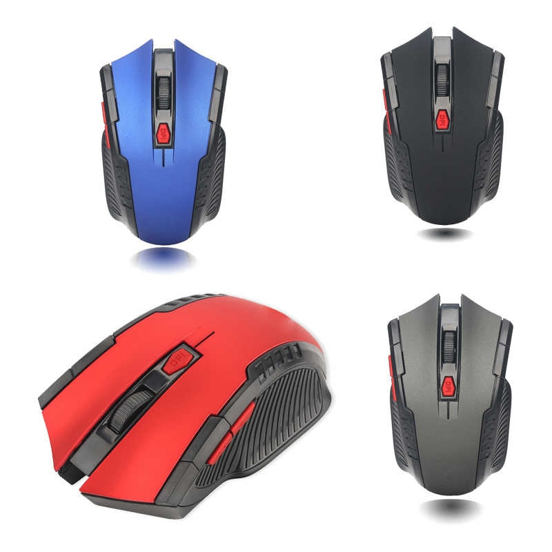 2.4G Wireless Mouse 1600 DPI Adjustable 6 Buttons Gaming Mouse With Nano Receiver Wireless Mouse for Computer/Laptop