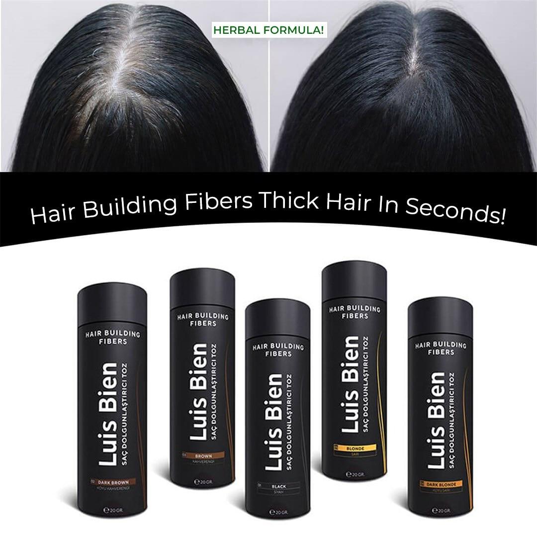 Luis Bien 20 g Hair Building Fiber Keratin Hair Thickening Hair Growth Anti hair loss product hair building powder