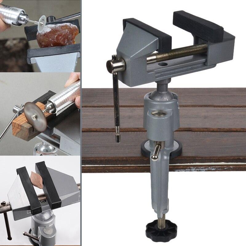 Universal Multi ángulo giratorio tabla Vice abrazadera-on amoladora Banco tornillo taladro eléctrico titular herramienta J8