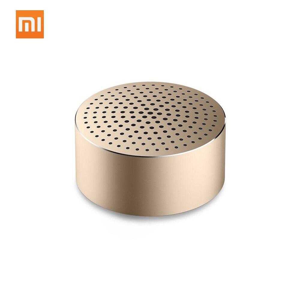 Original Xiaomi AI Bluetooth altavoz Mini inalámbrico HD calidad portátil columna Mic manos libres llamada AI Bluetooth caja de sonido