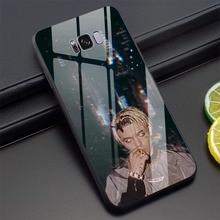 Visage rappeur russe Allj verre trempé étui de téléphone pour Samsung Galaxy A60 étui de téléphone pour A70 Note 8 9 10 Plus S7 Edge S8 S9 retour