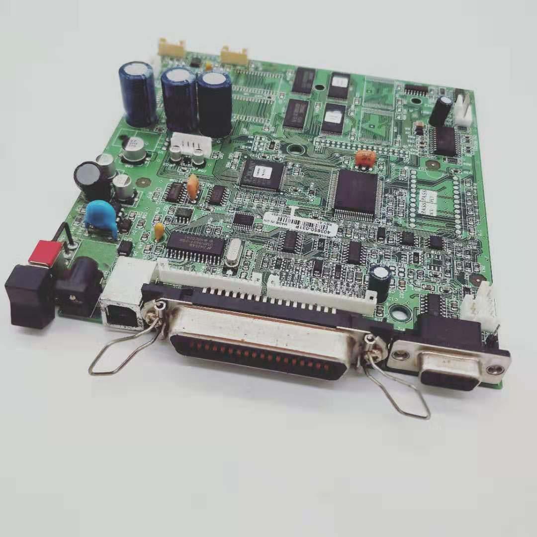 Placa madre de placa base para zebra TLP 2844 placa principal para impresora USB interfaz y partes de impresora de puerto paralelo