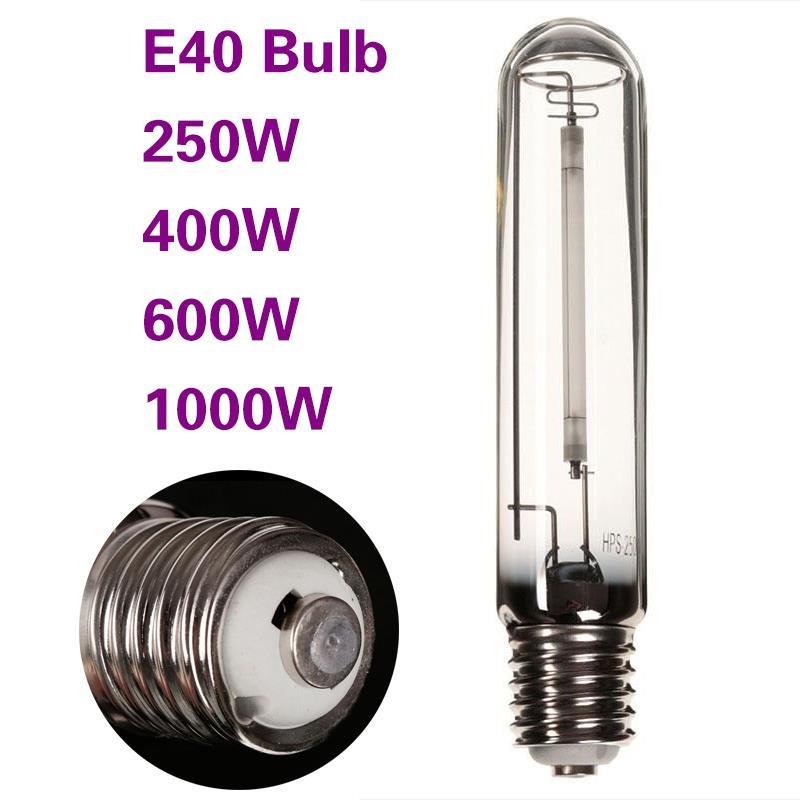 250W E40 Super HPS Grow bombilla para balasto para lámpara de cultivo de plantas de interior