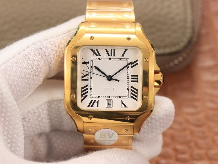 Replica Watches  (women's size 35.1 mm) TULX WSSA0029 Case: 316 material dial  1:1 open mold white dial female watch enlarge