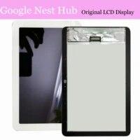 Ensemble ecran tactile LCD de 7 pouces  pour Google Home Nest Hub Carbon   Google Nest Hub CON Grigio Assistant