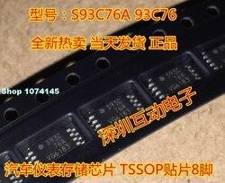 10 pçs/lote S93C76A 93C76 TSSOP8