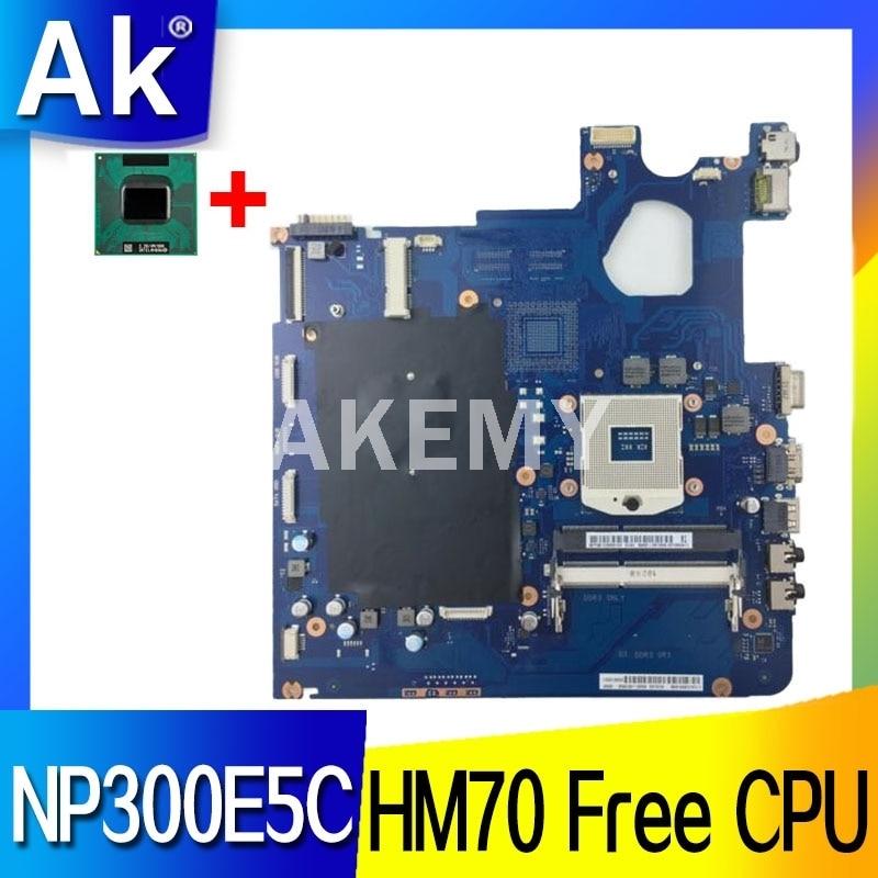 Akemy placa-mãe do portátil para samsung np300e5c hm70 mainboard BA41-01978A BA92-10740A sjtnv