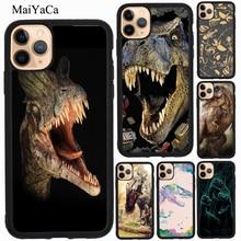 MaiYaCa T-rex Dinosaure Tyrannosaurus TPU Pour iPhone 11 Pro Max XR X XS Max 5S SE 2020 6S 7 8 Plus Housse Coque