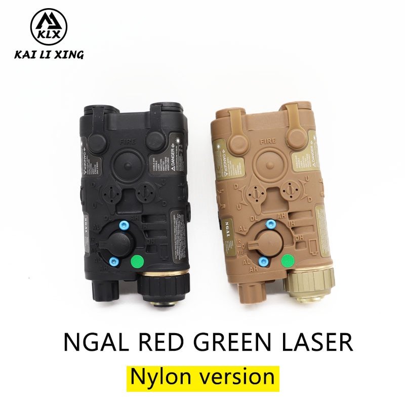 L3 NGAL Nylon version  Next Generation Aiming Laser Appearance Red or green Laser and flashlight For