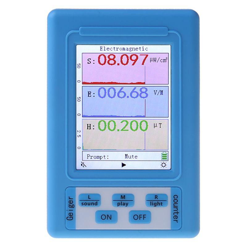 Профессиональный электромагнитный монитор, измеритель уровня радиации