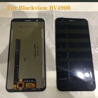 5 7 original display for blackview bv4900 lcd display touch screen digitizer replacement for bv 4900 lcd repair parts