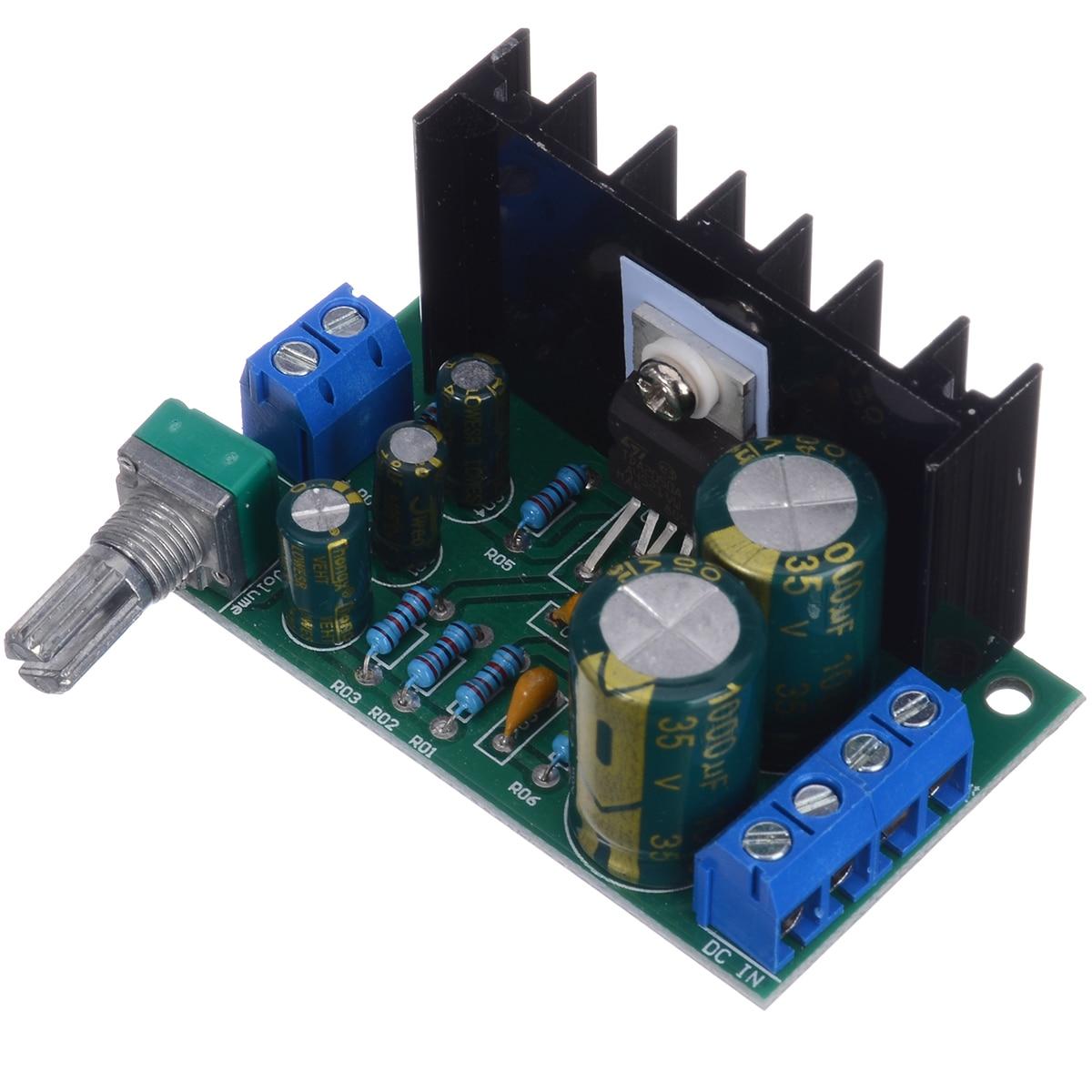 Módulo amplificador Mono TDA2050 DC 12-24V, 1 canal, amplificador de potencia de...