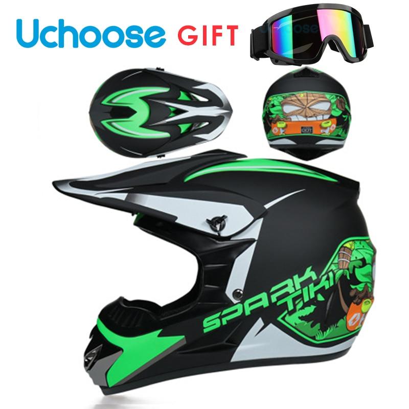 2021 Protective Motorcycle Helmets Moto Racing Motocross Off-road Children Motobike Helmet Casque Moto Capacete Moto Casco Sport enlarge