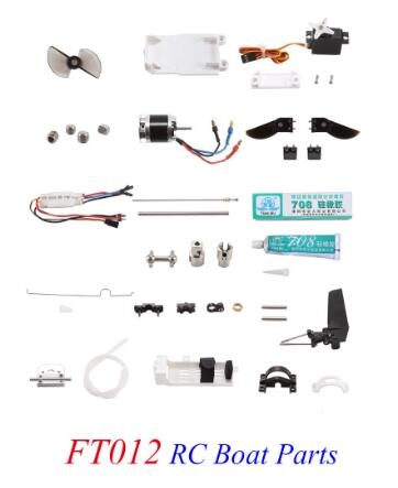 Feilun FT012 Brushless RC Boat Spare Parts Body Set /Battery/ Motor/ ESC/ Remote Control /Servo