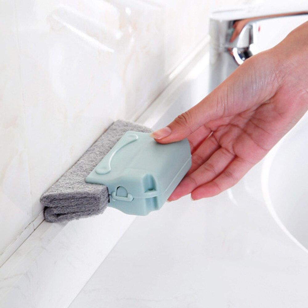 Herramienta de limpieza de ranura de ventana herramienta de ranura de ventana pequeña cepillo de limpieza de ventana