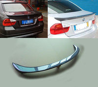 E90 אחורי ספוילר כנף שפתיים Fit עבור BMW 3 סדרת סדאן 05-12 סיבי פחמן AC סוג
