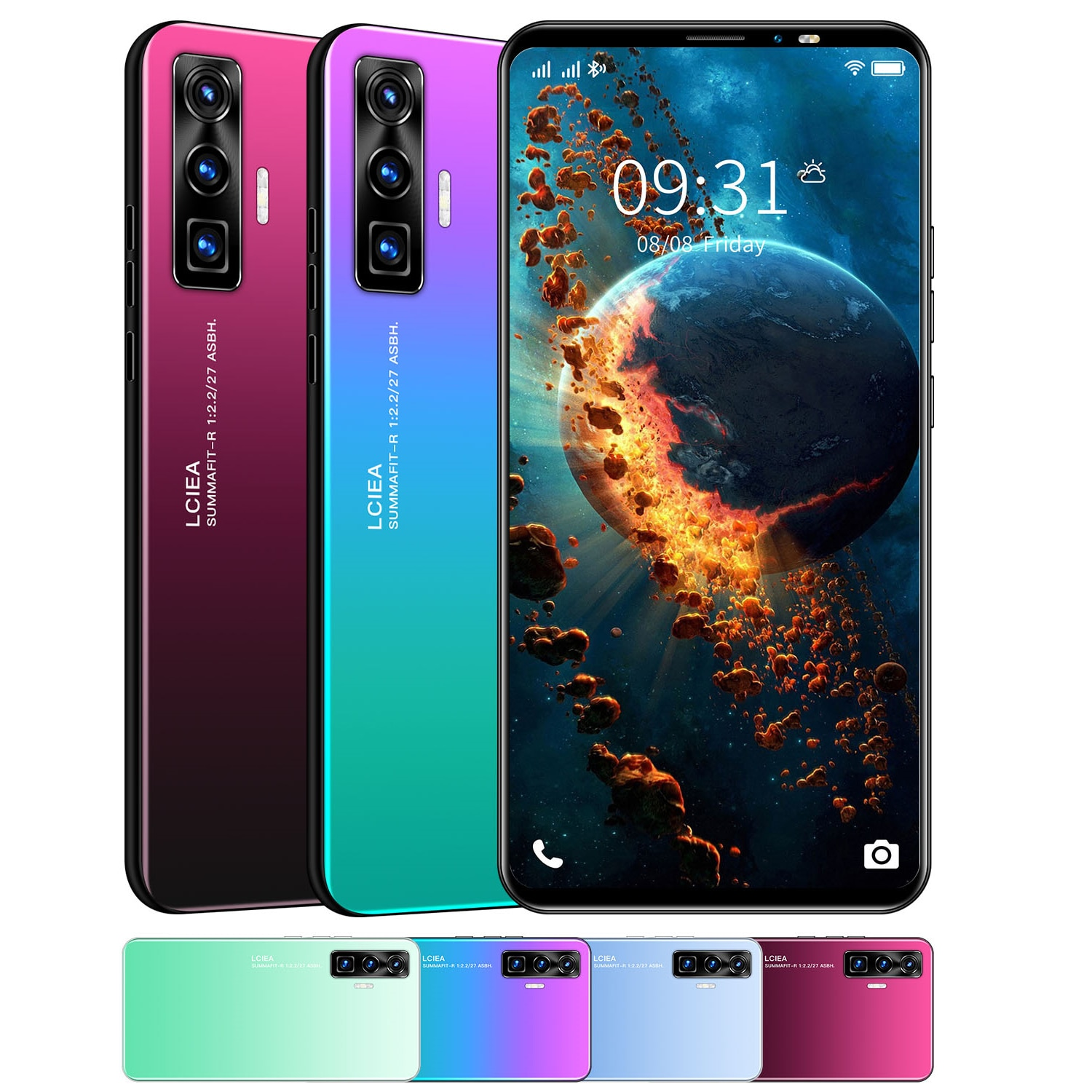 P48Pro 2021 Smartphone Latest Generation! 512MB+4GB 5.8 Inch Screen HD Camera  Android Mobile Cellphone
