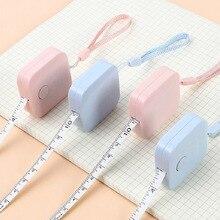 """Règle rétractable Portable pour enfants, mesure de la hauteur, centimètre, rouleau de 150cm/60 """", mesure spots downlight LED"""