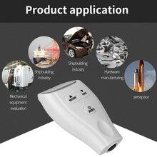 Mini jauges dépaisseur de revêtement portables testeur de peinture de voiture épaisseur de revêtement détecteur numérique jauge de mesure de précision de peinture