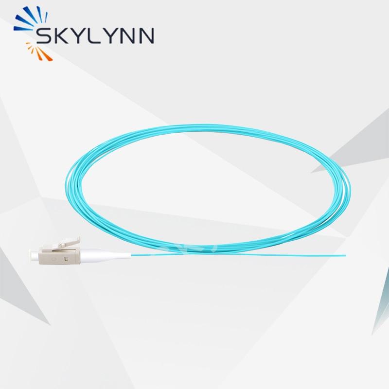 ضفيرة الألياف البصرية ، وصول جديد ، 2 متر طول LC/UPC 10 جرام OM3 0.9 مللي متر عازل ضيق