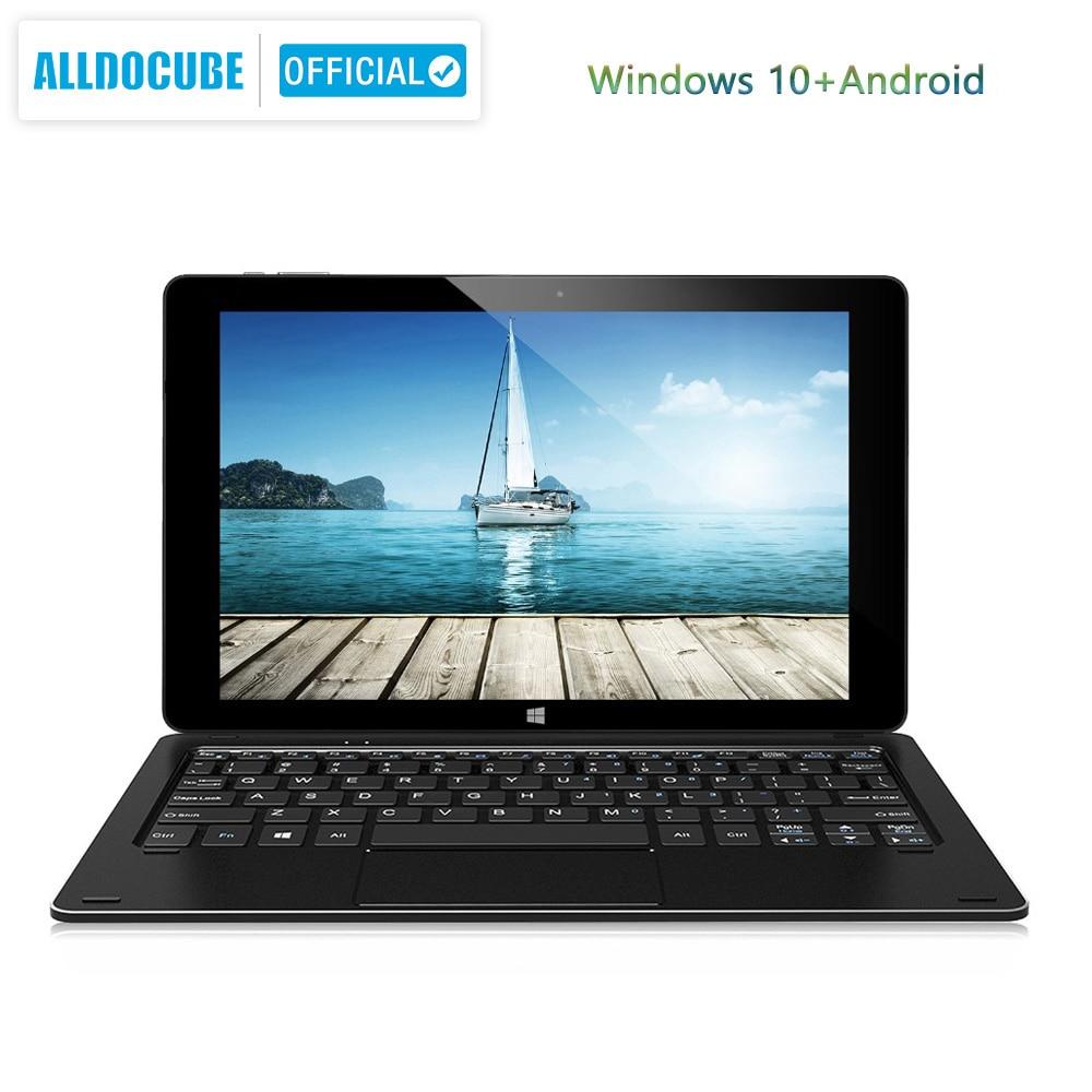 Alldocube iWork10 pro Tablet 10.1 inch RAM 4GB+ROM 64GB Intel Cherry-Trail Windows10+ Android 5.1Dual System  1920*1200 IPS wifi