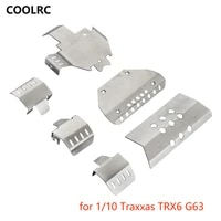 rc chassis armor plate for 110 traxxas trx6 g63 remote control car replacement accessory upgrade parts