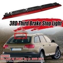 Montaje rojo de la luz de freno trasera del coche LED tercer conjunto de luz de freno para Audi A6 AVANT S6 C6 2005-2011 4F9945097