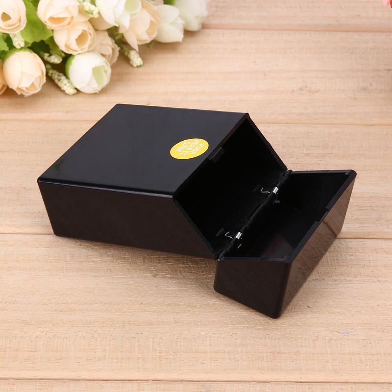1 Uds. De plástico para fumar estuche contenedor de bolsillo soporte para cigarrillos almacenamiento accesorios para fumar 10*6*3cm