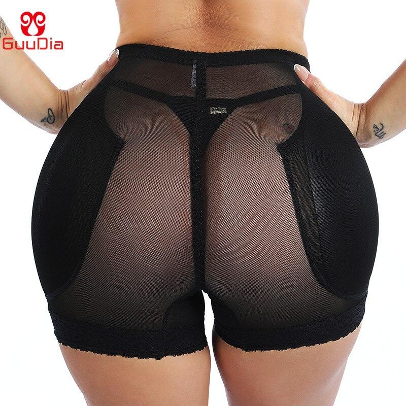 GUUDIA Hip Enhancer Butt Lifter Push Up Panties Women Body Shapers Control Panties Women Shapewear Sexy Mesh Breathable Bum Lift