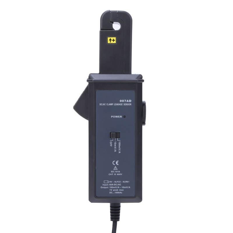 ETCR007AD 0mA-60.0A تيار مستمر/التيار المتناوب المشبك تسرب الاستشعار الحالي كشف أداة اختبار مستوى السائل الاستشعار