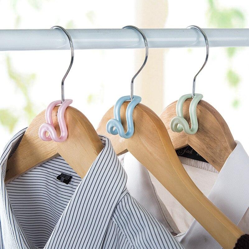 5 шт. Антискользящая одежда вешалка крючок DIY креативная мини вешалка для одежды Домашний легкий крючок пластиковый органайзер для шкафа StorageRackHolderHook Вешалки и крючки      АлиЭкспресс