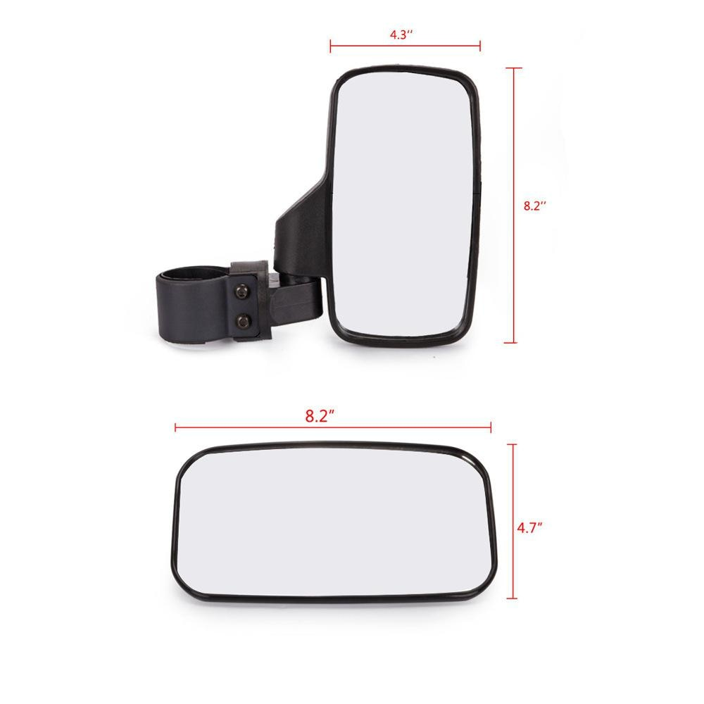 Motorcycle Rearview Mirrors Accessories Motorbike Motocross Professional Side Rear Mirror accesorios para moto for Polaris UTV