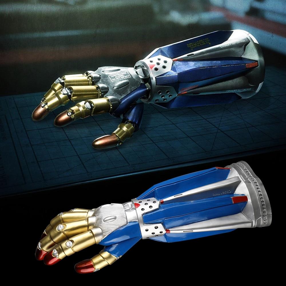 Devil Cry Nero Breaker Glove 5 Cosplay Gloves DMC Nero Arm Armor Halloween Costume Accessories Prop