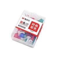 35 pcspack mg colored pushpins metal thumb tacks map drawing push pins crafts office accessories school supplies stationery