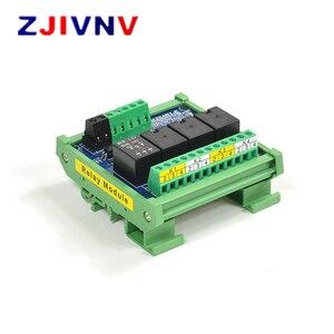 4 Channels 24V 1NO + 1NC Optocoupler Isolation Relay Module Supply Voltage DC 24V Trigger Signal DC 3.3V 5V 12V 24V