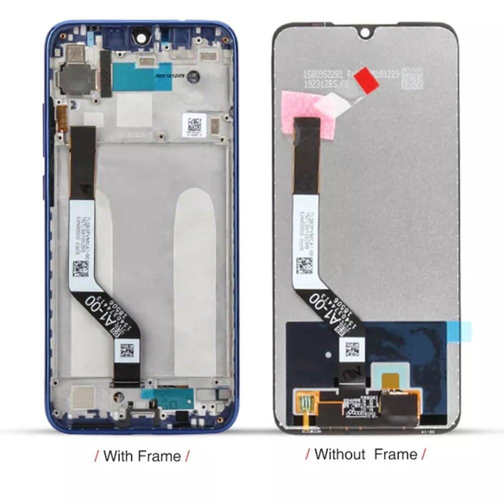 LCD عرض تعمل باللمس محول الأرقام كامل الجمعية استبدال جزء الحرة الغراء والأدوات ل شاومي Redmi نوت 7