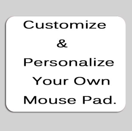 Alfombrillas de ratón redondas rectangulares XGZ, 10 unidades, precio más barato, personalizadas, tu propia imagen, diseño DIY
