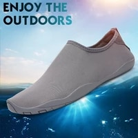 summer aqua shoes outdoor wading men woman beach swimming hiking quick drying water barefoot shoes slip on size 35 46