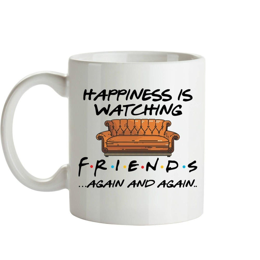 2020 Whitelf Tv muestra tazas de amigos de viaje cerveza taza de porcelana café taza de té 11oz cerámica amigos regalo tazas Drop Shipping