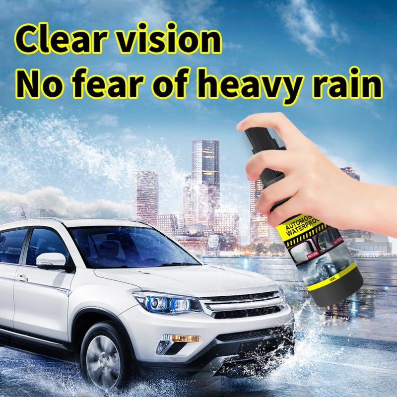 60ml Automobile Windshield Water Repellent Car Coating Windows Waterproof Rainproof Nano Hydrophobic Coating Antifogging Agent