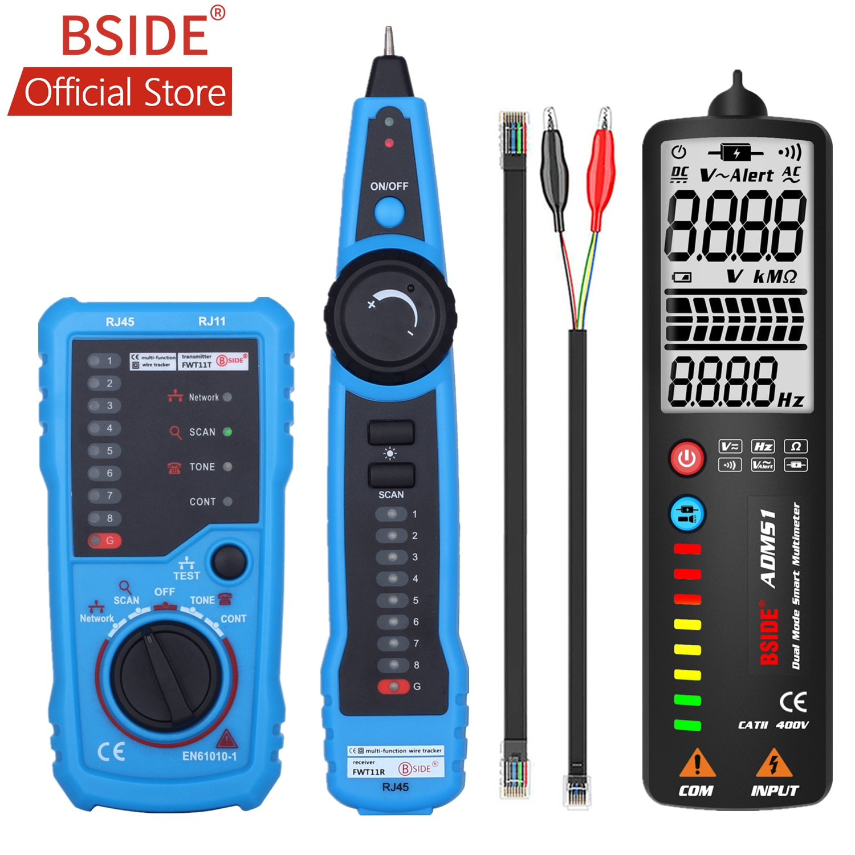 BSIDE-rastreador de Cable de teléfono FWT11, alta calidad, RJ11, RJ45, Cat5, Cat6,...