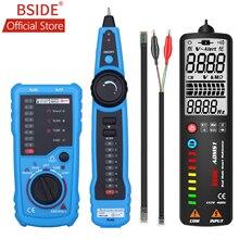 BSIDE FWT11 Hohe Qualität RJ11 RJ45 Cat5 Cat6 Telefon Draht Tracker Tracer Toner Ethernet LAN Netzwerk Kabel tester Linie Finder