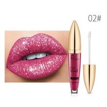 New product 2021 diamond luster Liquid Lip Gloss pearl luster lip gloss 18 Color Lip Gloss Cosmetics