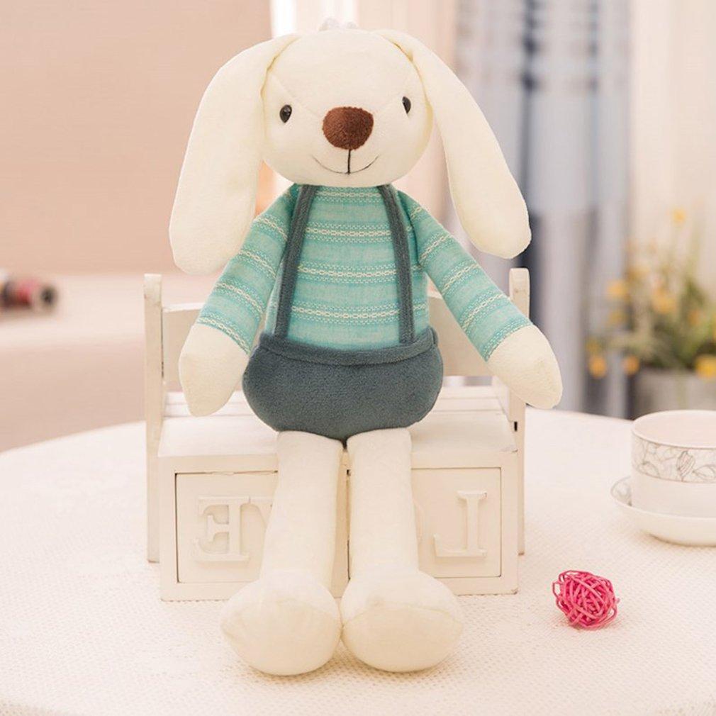 Милая кукла-кролик, плюшевые животные, мягкие детские игрушки-кролики для девочек, Детский Рождественский подарок, мягкие игрушки-питомцы д...