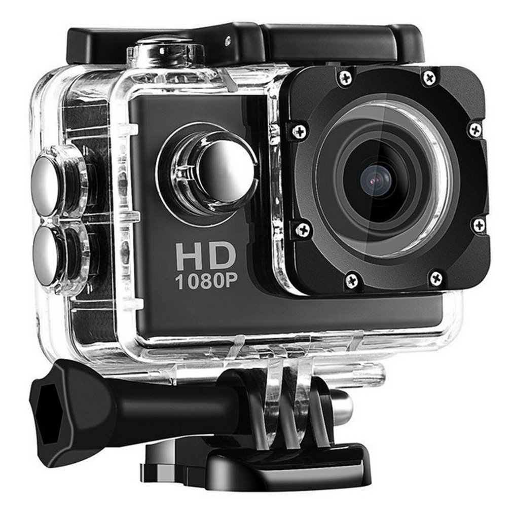 Cámara Digital de grabación G22 1080P HD, videocámara impermeable con Sensor COMS, lente gran angular, Cámara de Acción deportiva Profesional