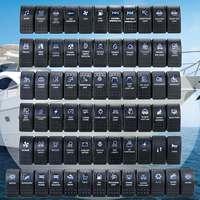 Тумблер для автомобиля, лодки, каравана, 12 В, 24 В, 1 шт.