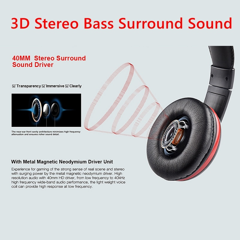 For PS4 High quality Gamer Headphone With Microphone 3.5mm Jack Noise Cancel Gaming Headset Stereo Bass casco For Phone Tablet enlarge